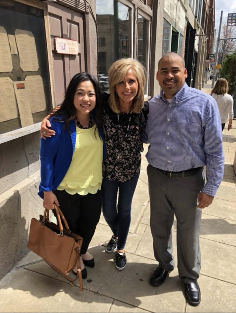 """Beloved sister, when I reflect on your birth, I think of the words of God to Jeremiah,  """"Before I formed you in the womb I knew you, and before you were born I consecrated you; I appointed you a prophet to the nations.""""  - Jeremiah 1:5  Happy Birthday @BethMooreLPM! ❤️"""