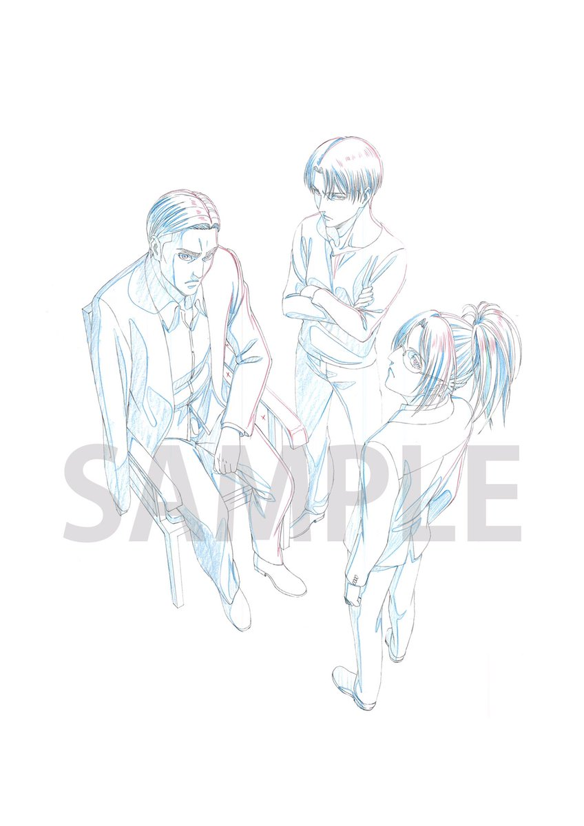 【Blu-ray&DVD情報】「進撃の巨人」Season 3 Blu-ray&DVD第5巻〜第7巻の、法人オリジナル特典の描き下ろしイラストラフ画を公開しました!詳しくはこちらをチェック!→#shingeki