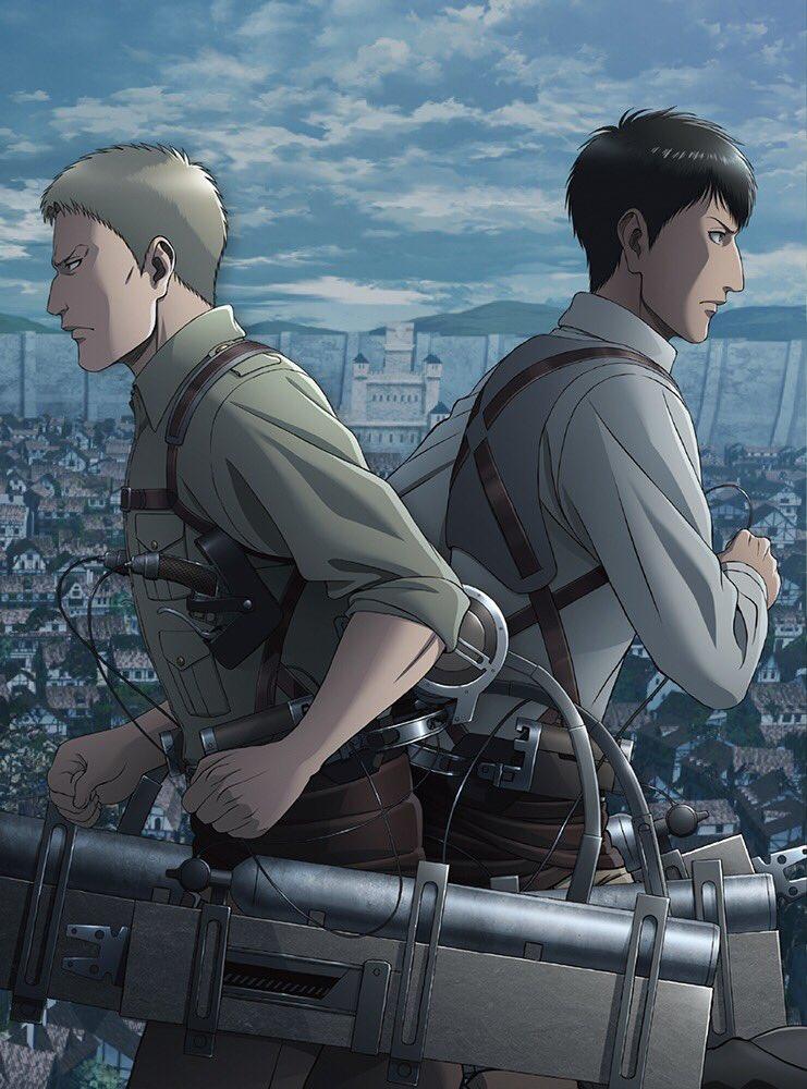 【Blu-ray&DVD情報】「進撃の巨人」Season 3 Blu-ray&DVD第5巻のジャケットイラスト公開!第5巻の発売日は7月24日(水)です!詳しい情報は公式サイトをぜひチェックしてみてください!→#shingeki