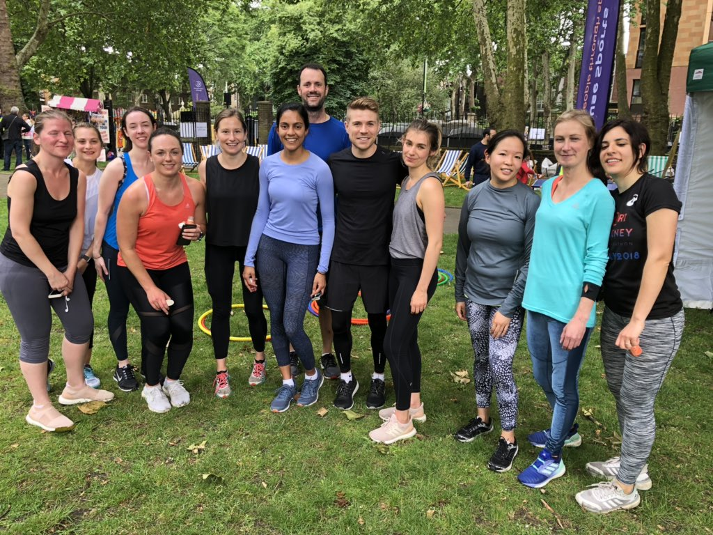 Great fun leading the fitness sessions for @chhplondon @lululemonuk @lululemon at the Marylebone Summer Festival this afternoon 🏃♀️ 🏃♂️ #chhp #training #lululemon #marylebone #fitness #run #exercise #london #fit #health #marylebonesummerfestival #wellness #chhplondon