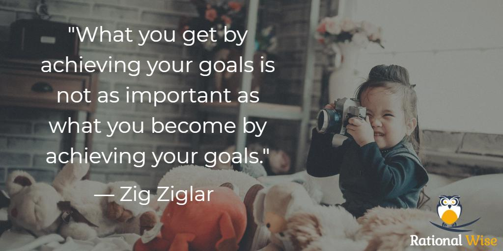 """What you get by achieving your goals is not as important as what you become by achieving your goals."" — Zig Ziglar #GrowthMindset #PersonalDevelopment <br>http://pic.twitter.com/ae8Ki5y7sP"
