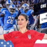 Image for the Tweet beginning: Let's go @USWNT!   #OneNationOneTeam |