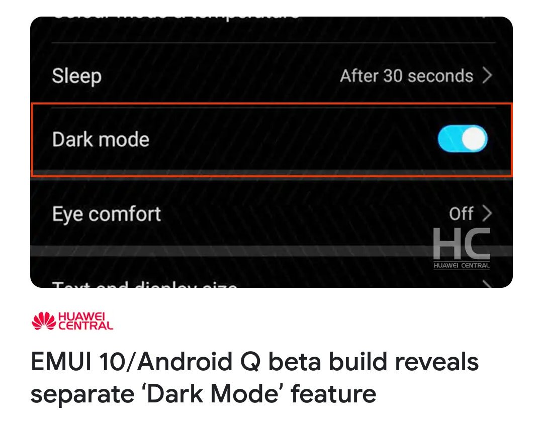huawei p20 android pie uk