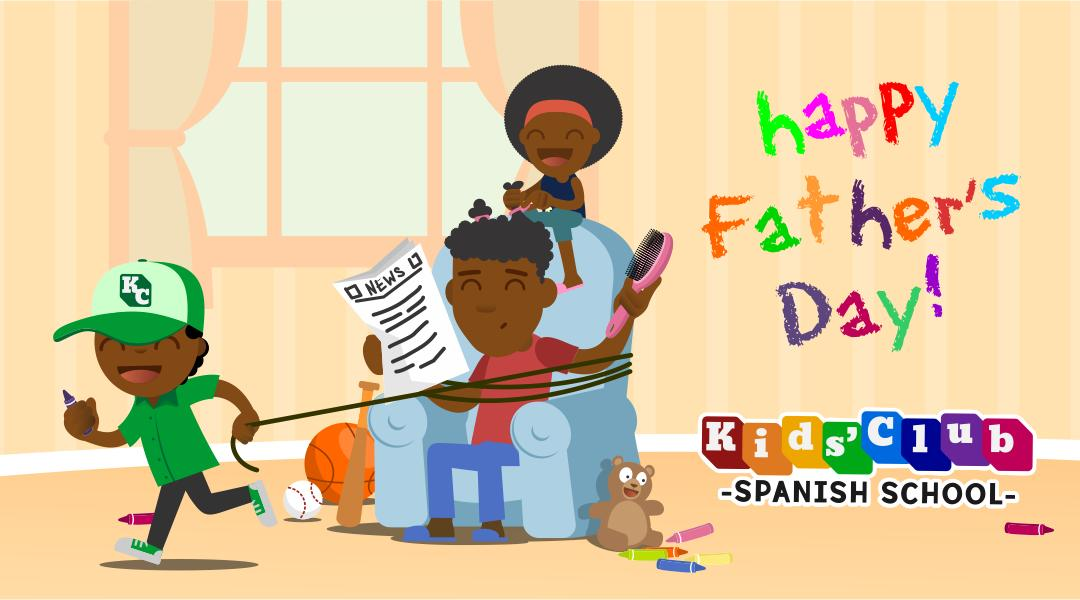 Father's Day Kids' Club Spanish School