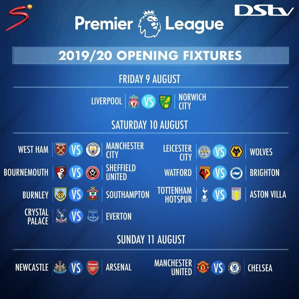 These#PLFixturesare so🔥🔥🔥Stay connected to DStv for more Football action!!
