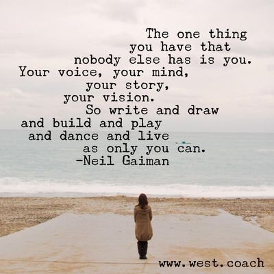 The one thing that you have that no one else has is you. Your voice. Your mind. Your story. Your vision.  #writerslife #amwriting <br>http://pic.twitter.com/vZyxyZJJq0