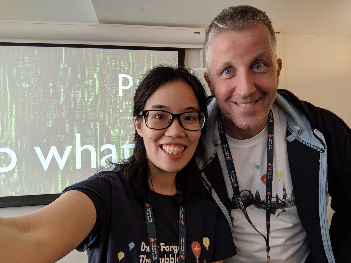 Half a decade since @ffolliet & I first ran  #presentationskills workshops together! Was a pleasure working & learning together again- it's better every time. Special thanks to all the delegates- you were fantastic & we look forward to hearing your stories of growth :)  #DFTB19<br>http://pic.twitter.com/sJd9KZQiYY