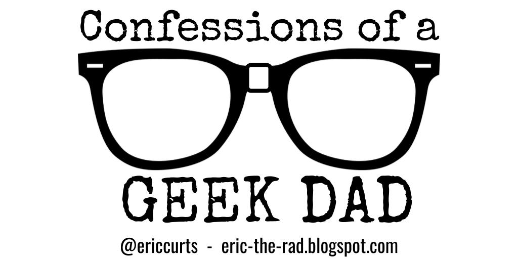"""👓 New post for Father's Day """"Confessions of a Geek Dad"""" https://eric-the-rad.blogspot.com/2019/06/geekdad.html… Growing up without a father of my own, how could I be a dad to my children? #FathersDay #GeekDad"""