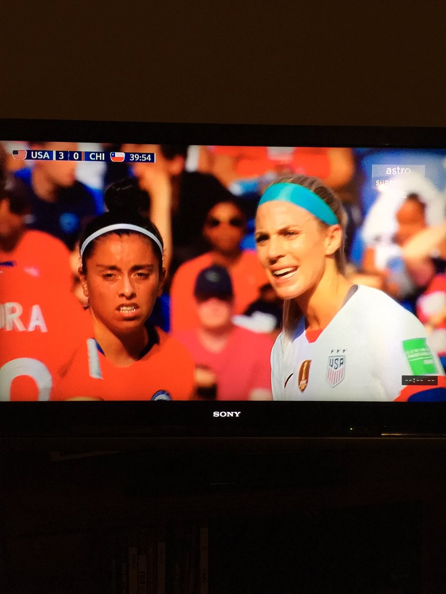 What Monday Blues? Definitely not choosing bedtime over the chance to watch the #USWNT play in real time. #FIFAWWC2019