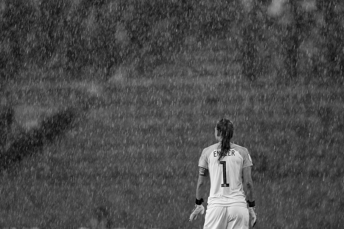 Tuesday: 🌧️ Sunday: ☀️ Regardless of the weather, @TIANEendler has been making some incredible saves in this #FIFAWWC so far 🧤 #USACHI | #FIFAWWC