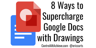 You can't do that in Docs! 8 Ways to Supercharge Google Docs with Drawings http://www.controlaltachieve.com/2017/12/docs-drawings.html… #GSuiteEDU #edtech