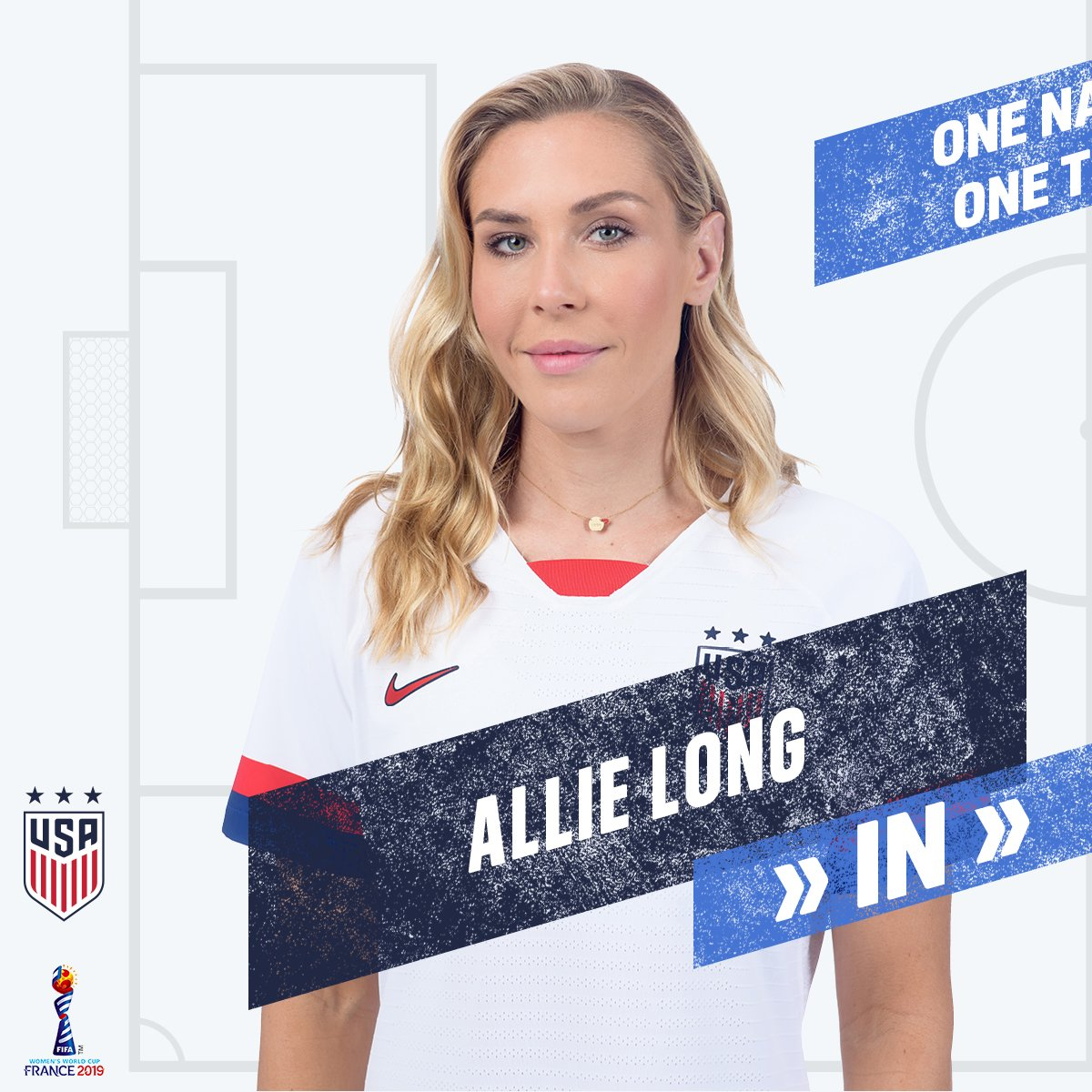 59   Second sub of the game ➡️ @ALLIE_LONG ⬅️ @LindseyHoran #FIFAWWC