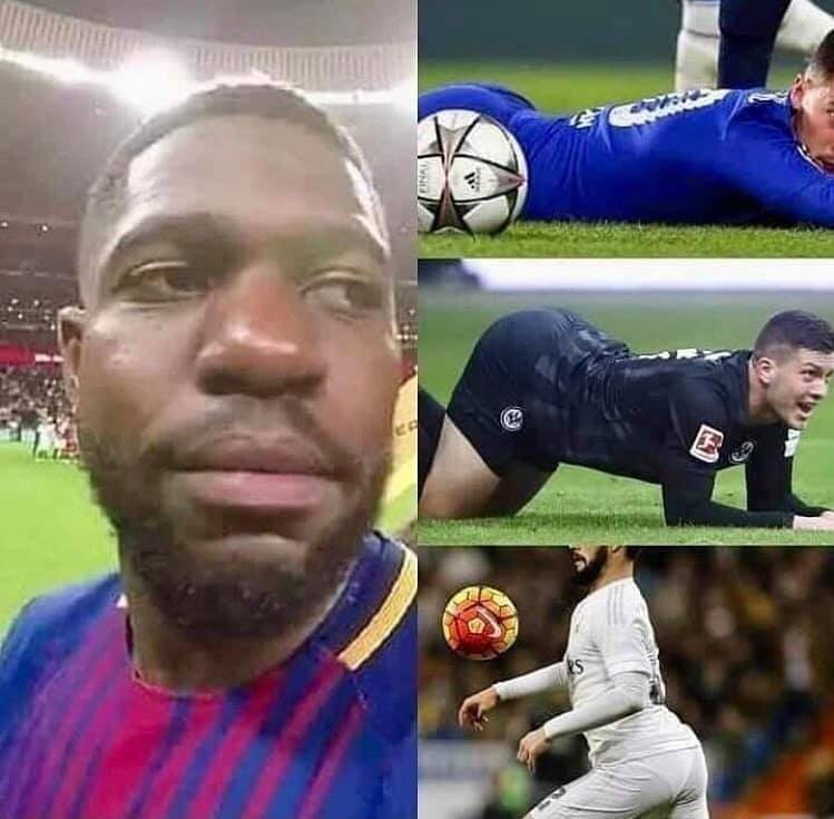 RT @TrollFootball: BREAKING: Umtiti will stay at Barcelona https://t.co/YEiMChypkQ