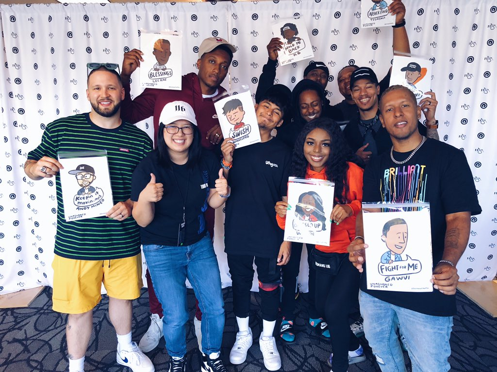 Look, all I need is one 16... #UnashamedForever Tour: simply INSANE! Inspired by all these artists' hearts for God, & their music! Thanks for bringing the 🔥 to the Bay Area!  @reachrecords @AndyMineo @lecrae @KB_HGA @WHATUPRG @OMGitsWande @Tedashii @TripLee  @1kphew @GAWVI – at Redemption