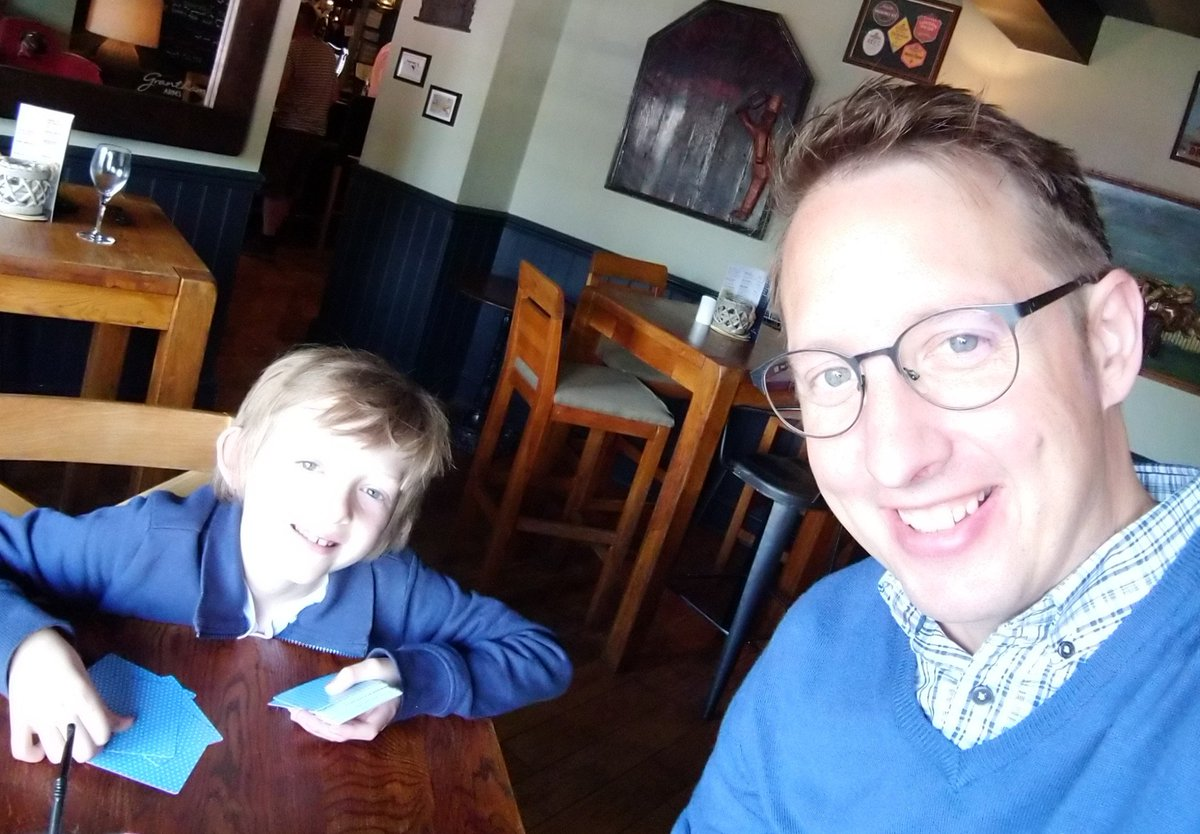 #FathersDay proud of this little one every single day and putting up with my annoying selfies! 😁
