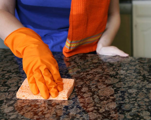 Using vinegar on hardwood floors, natural tiles, and granite #countertops can damage the finish. #homeheacks   http:// cpix.me/a/74442063     <br>http://pic.twitter.com/7yaoKlB3DY