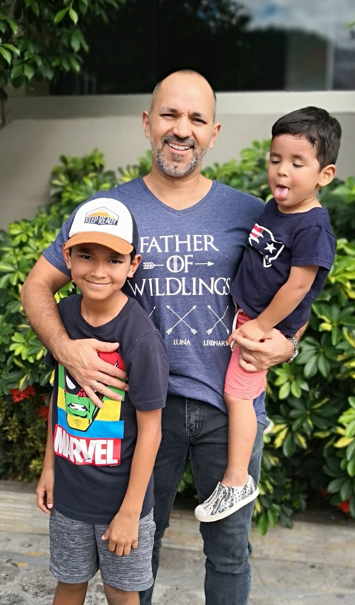 Happy to be the Father of (these) Wildlings #happyfathersday #wildlings #dad #FathersDay #PapasChingones #papa