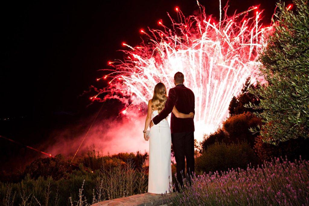 Tennis star Caroline Wozniacki marries former NBA All-Star David Lee in Italy