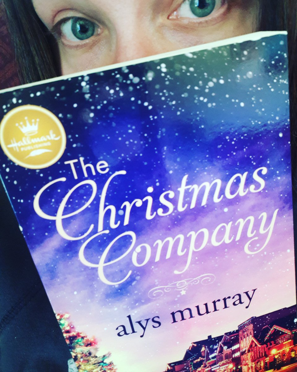 It's here, and it's beautiful! Bought a paperback copy of #TheChristmasCompany by @writeralys and I can't wait to dive into it! 📚♥️☕  #Hallmarkies #bookstoread #sweetromance #Hallmark #hallmarkchristmas #hallmarkromance