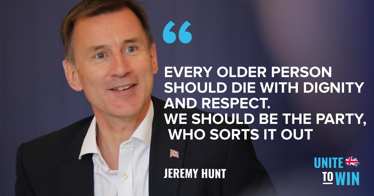 Every older person should die with dignity and respect #C4debates #HastobeHunt