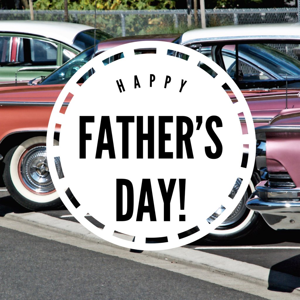 Wishing all our fathers a wonderful Father's Day Sunday!