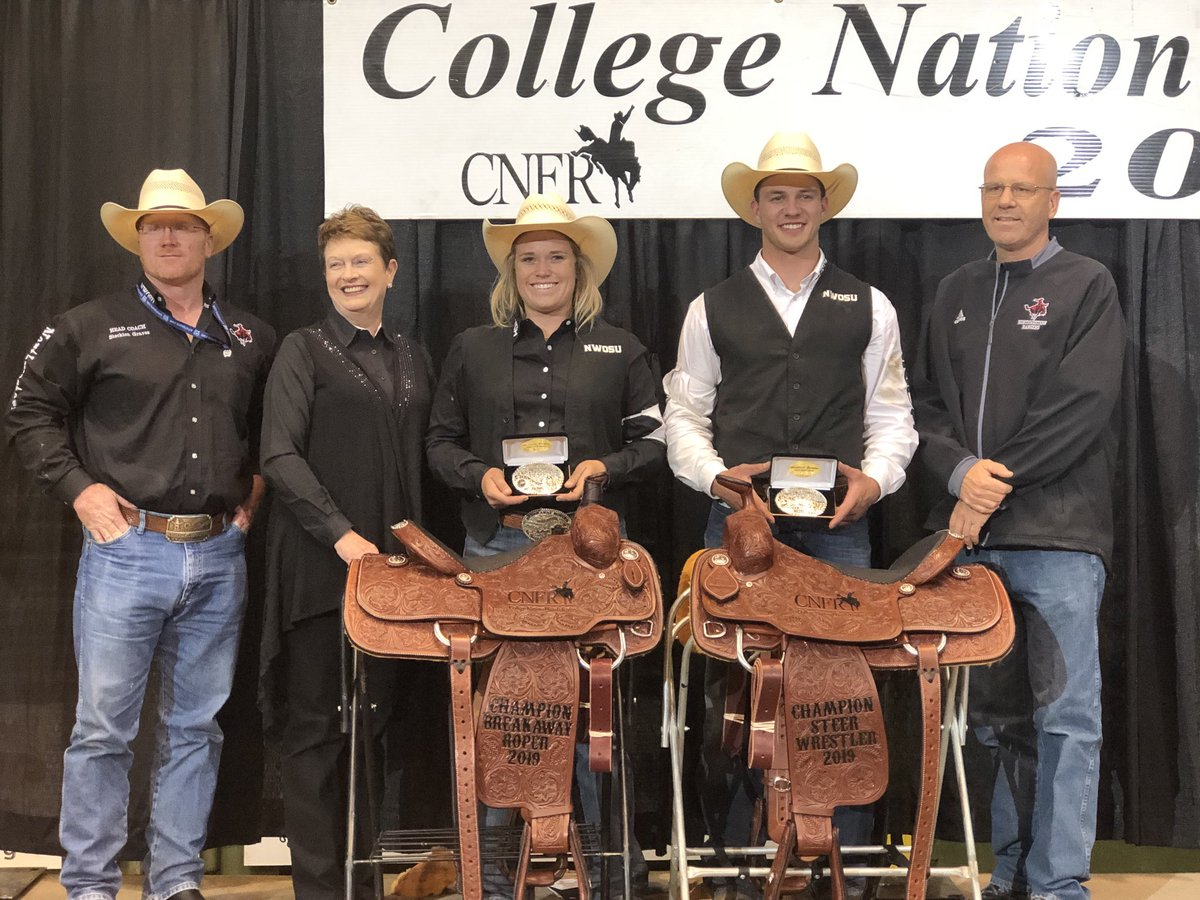 So proud of our two national champions, Taylor and Bridger, and Coach Graves! #RRR