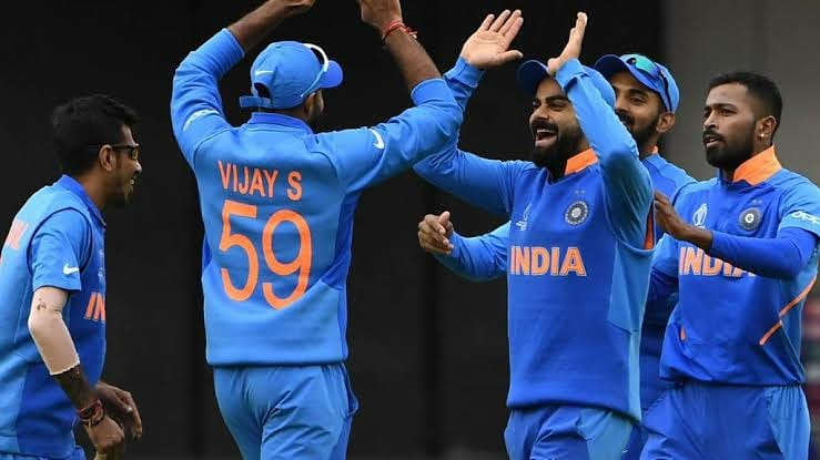 Upwards and onwards!Kudos team India. 🇮🇳Special mention to my partner @ImRo45 👏