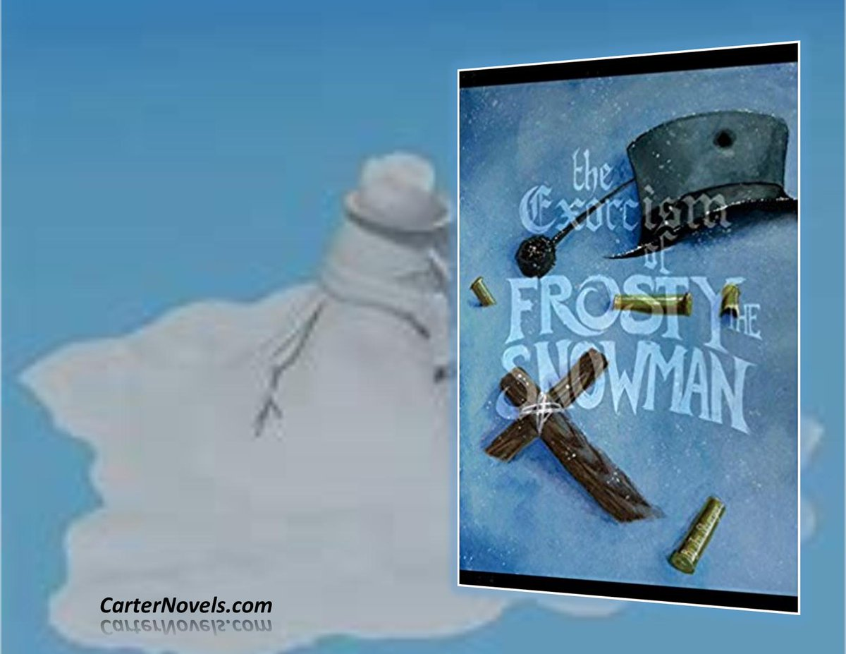 THE EXORCISM OF FROSTY THE SNOWMAN https://buff.ly/2tsFMnE AUTHOR JONATHAN SHUERGER Humor/Fantasy  #Books #IARTG #Kindle #Amazon #ReadIndie #indieauthors #ian1 #bookboost  #Authors @rcarter67606 @JPCarter47 @JonathanShuerg1