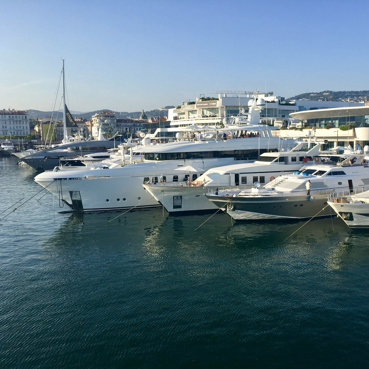 Almost ready for Cannes Lions 2019! Masses of organisation across our four yachts, but getting there! #cannes #canneslions #canneslions2019 #cannes2019 #bespokeyachtcharter