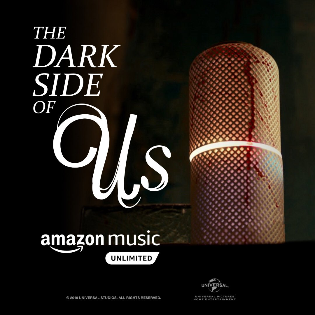"I made a playlist. It's called ""The Dark Side of Us."" 🎵🔛🌎 #TheDarkSideOfUs amzn.to/2Km1UL5"