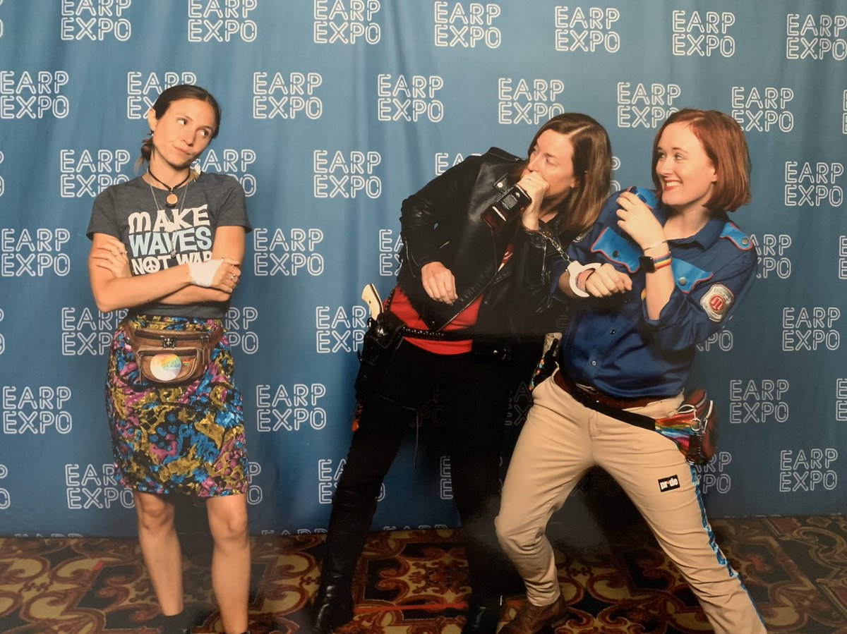 Waverly is always disappointed when Wynonna and Nicole get drunk!!! But we love her!  #WynonnaEarp #EarpExpo<br>http://pic.twitter.com/EpjnKBR0ow