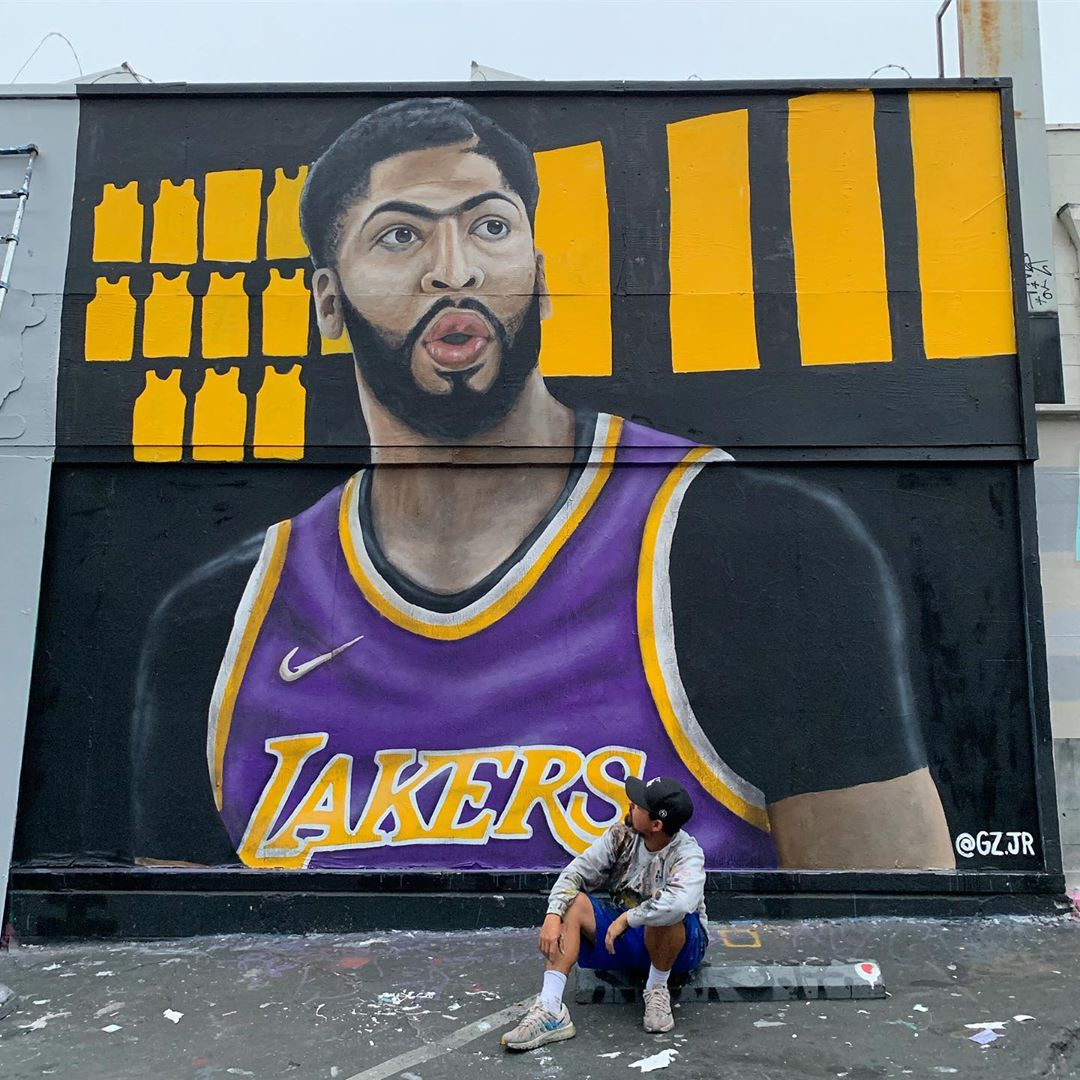 Photo: There's Already An Anthony Davis Mural In Los Angeles