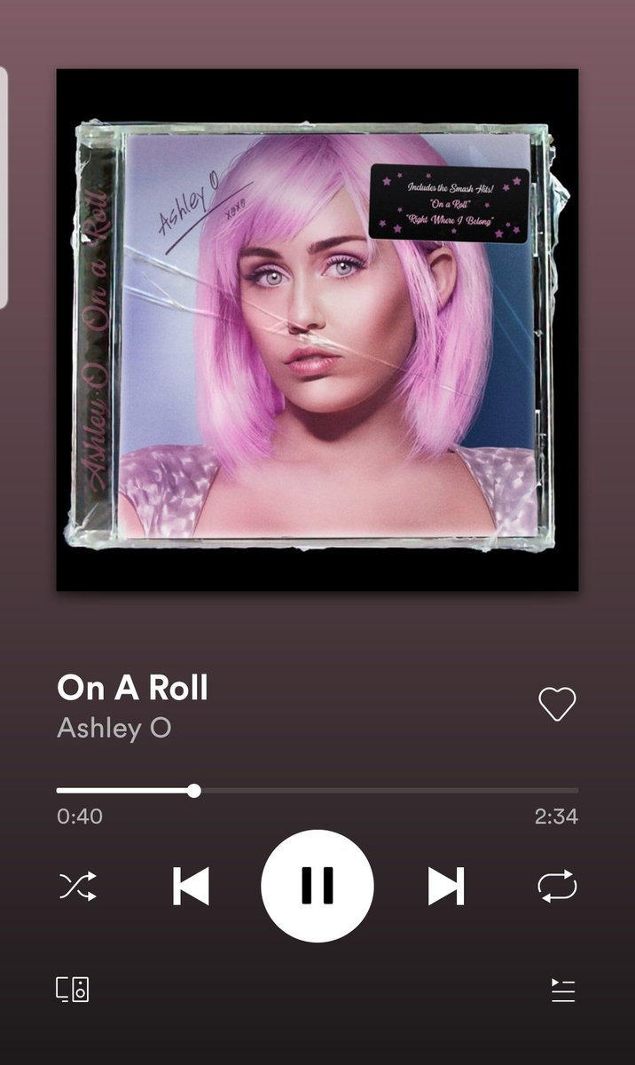 And I'm sorry, but this is an absolute bop