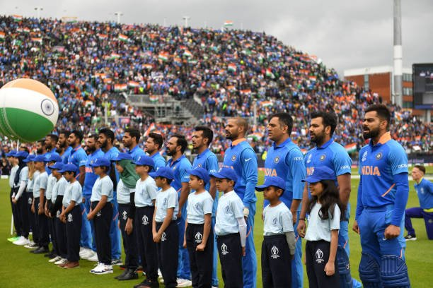 Top performance by the team. Thanks to all the fans for turning out in large numbers. 🇮🇳👌🏼💪🏼#CWC19 #INDvPAK