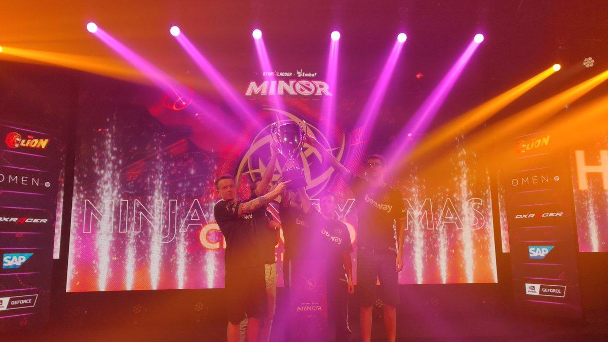 NiP juarai StarLadder ImbaTV Dota 2 Minor S2