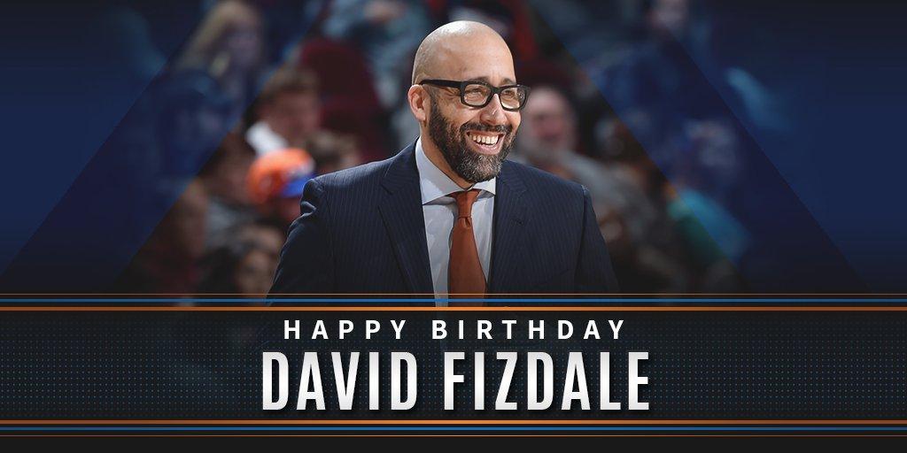 Happy Birthday to @nyknicks Head Coach David Fizdale!