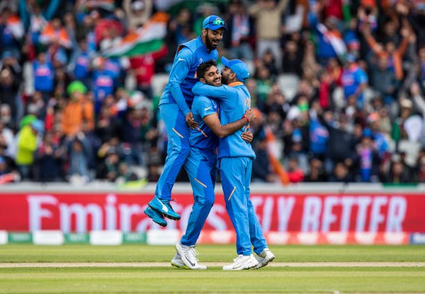 Such a surreal feeling, one that will be remembered and cherished. #INDvPAK #CWC19 🇮🇳🙌🏼🙏🏼
