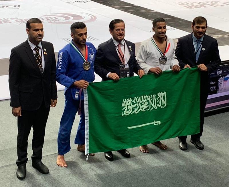 ثلاث ميداليات حصيلة الأخضر السعودي للجوجيتسو في بطولة غراند سلام https://t.co/rNCI9cuGys https://t.co/tpleUFCXI1