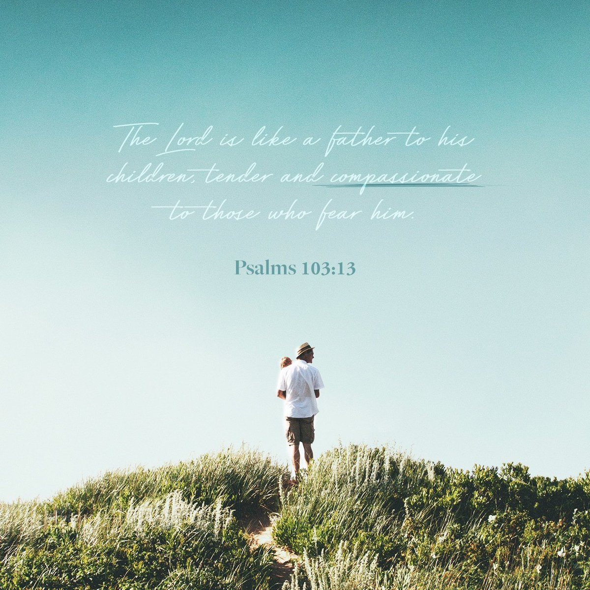 As a father pities his children, So the Lord pities those who fear Him. Psalms 103:13 N…  https:// bible.com/verse-of-the-d ay/psa.103.13/34735  … <br>http://pic.twitter.com/654VqGRU1N