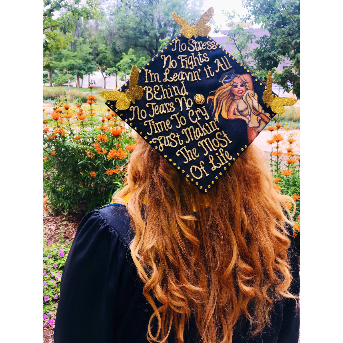 """This song by @MariahCarey really resonated with me because 2019 has been a true test to my faith. I love you Mariah, thank you for being my saving grace and thank you for always inspiring me to """"Make It Happen""""  I am now an official graduate of UC Riverside, Class of 2019 <br>http://pic.twitter.com/aV6eT0TVIv"""