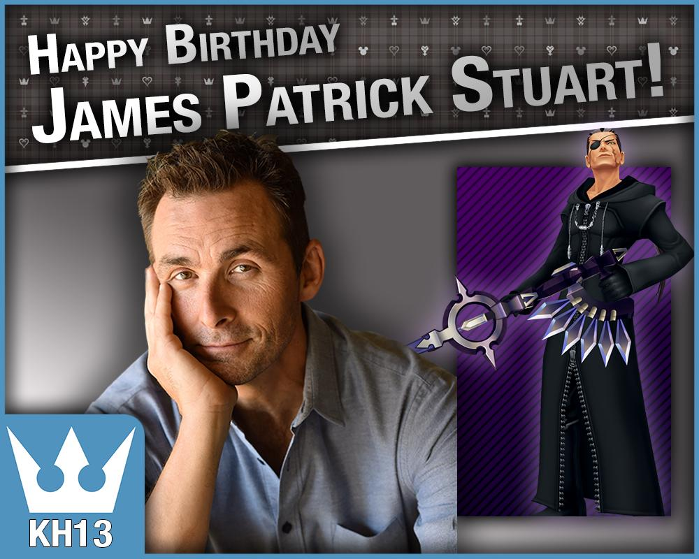 Happy Birthday to James Patrick Stuart the voice actor for Xigbar/Braig in the #KingdomHearts series. He turns 51 today<br>http://pic.twitter.com/15a7E4TIor