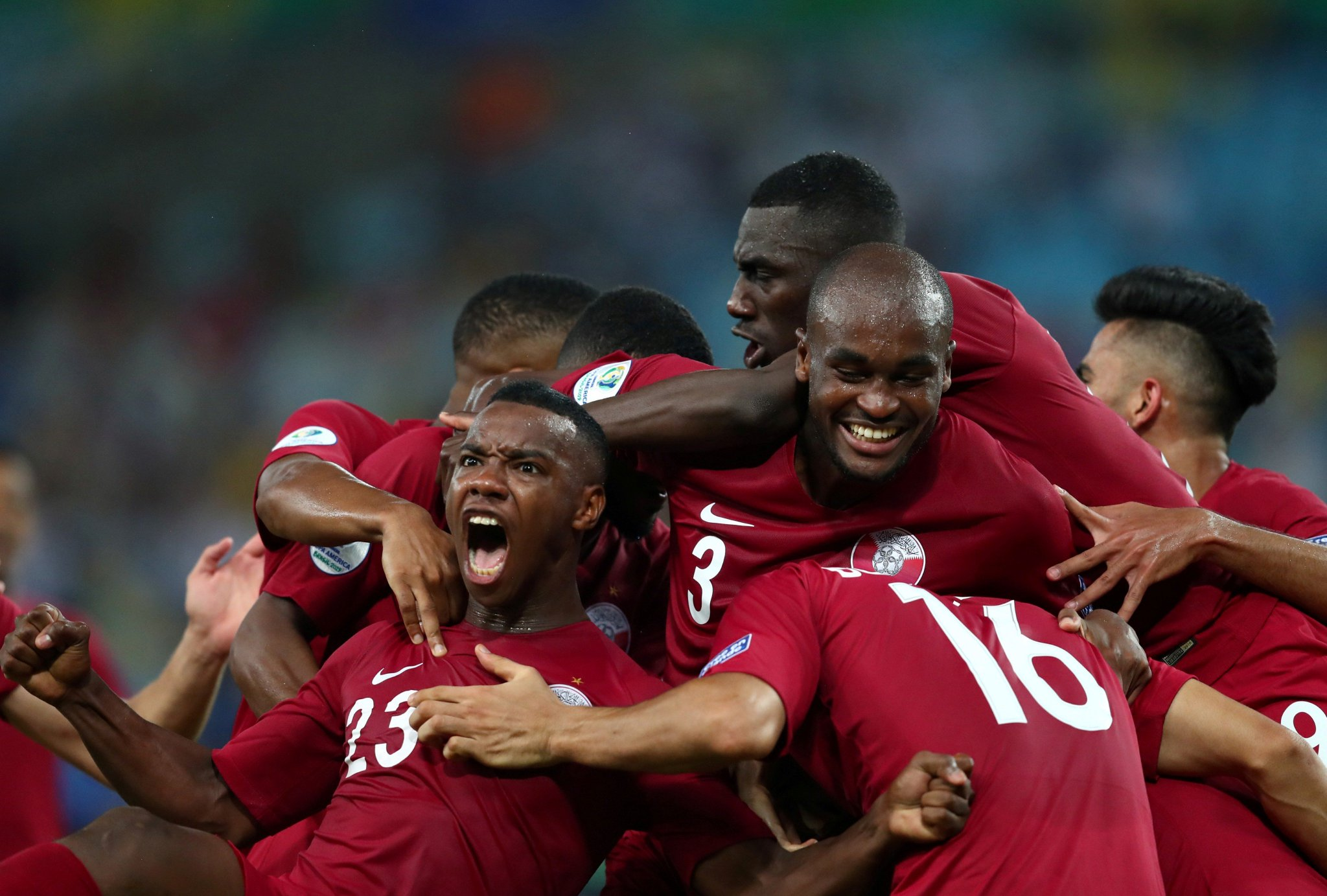 أهداف مباراة قطر وباراجواي (2-2) في كوبا أمريكا