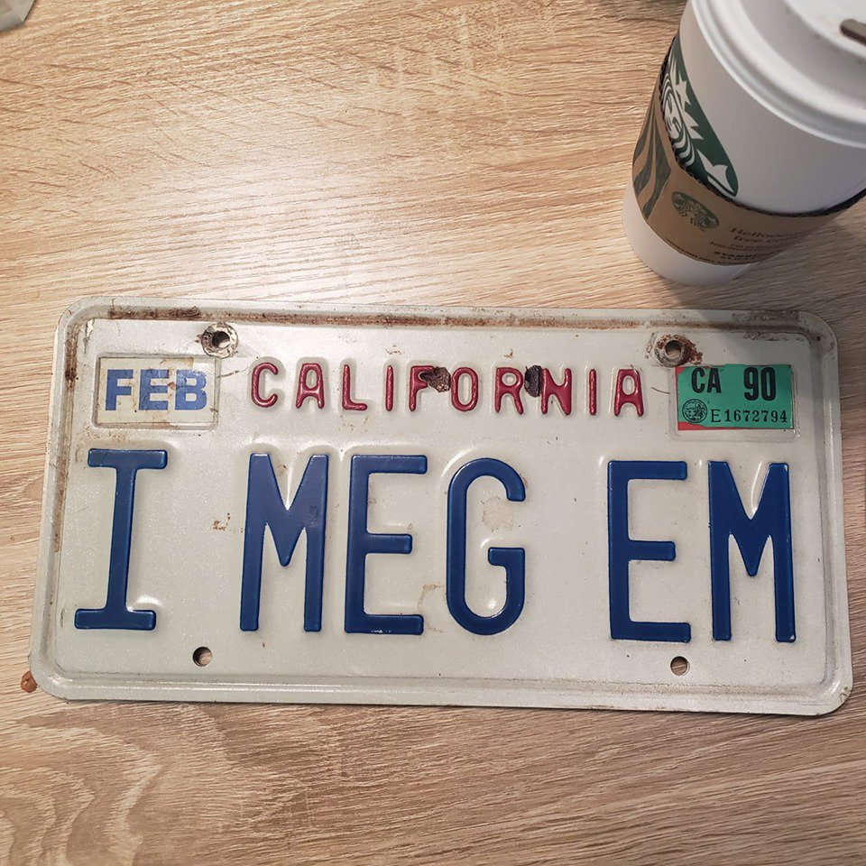 Jordan Older On Twitter Friend S License Plate From The 1980 S 1990 S He Was One Of The Best Players In The Country He sees shades of the iphone here, the gadget that does so much. twitter