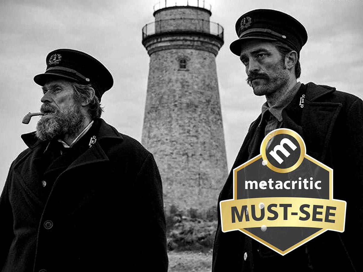 The Lighthouse [91] metacritic.com/movie/the-ligh… Time Out: The Lighthouse leaves you dazed, terrified and elated, and it signals Eggers as one of the most exciting directors working today.