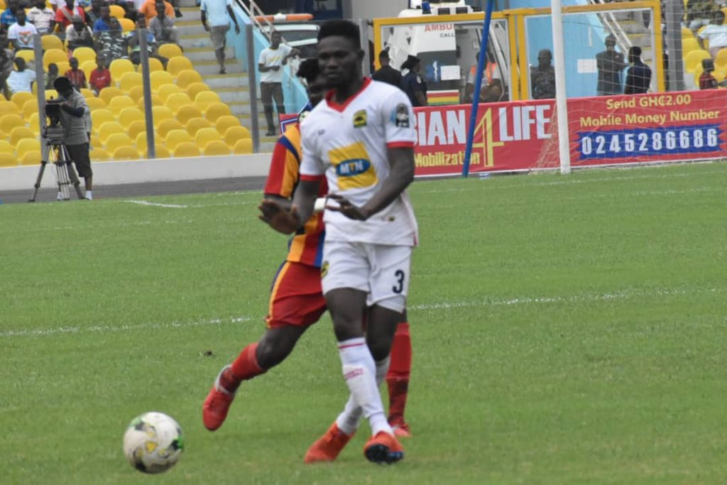 Special Competition: Kotoko star Kwame Bonsu elated after Hearts win