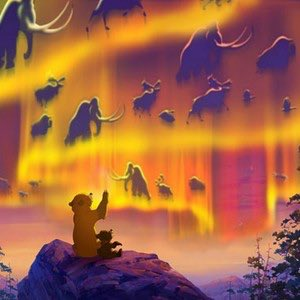 y'all remember the cinematic masterpiece that was brother bear? bc that shit was breathtaking bro