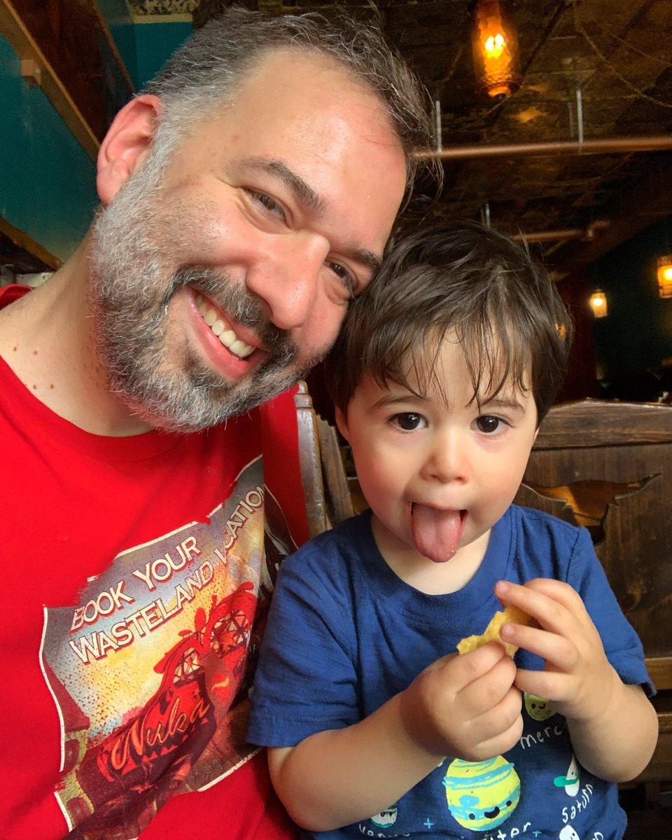 Best father's day ever. This little dude is the best thing to ever happen to me and I can seriously spend all day just hanging with him and eating Mexican food. #mrcookies