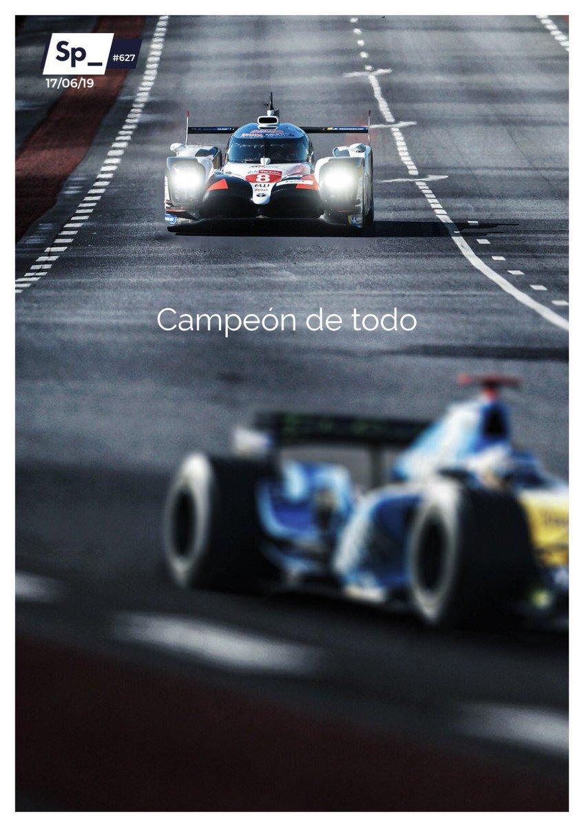 Campeón del mundo de Resistencia. Campeón del mundo de Fórmula 1. Campeón de todo: Fernando Alonso, en la historia #PortadaSp_