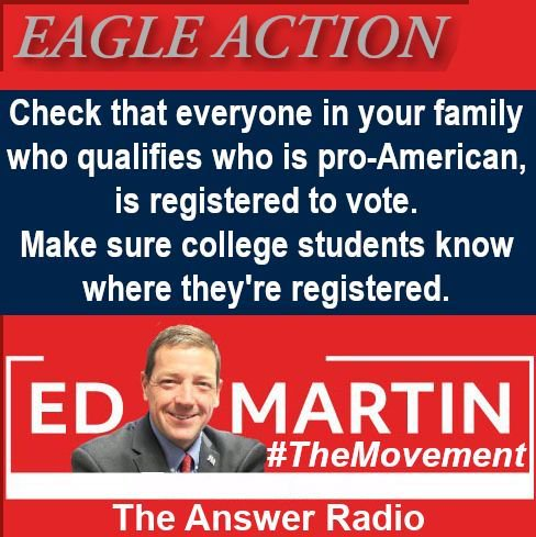 #EagleAction from #TheMovement 🦅 Let's get good at this - the Dems are passionate about registering their voters. #MAGA2020 #TrumpTrain #PathToVictory