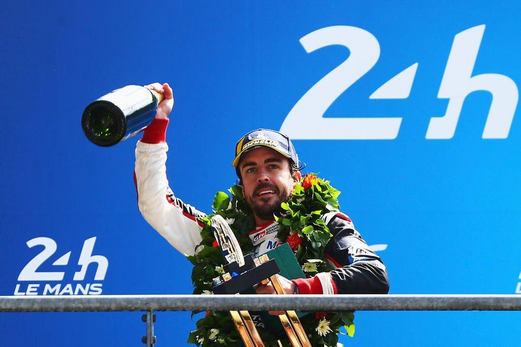 2 veces campeón del mundo de #F1 2 veces ganador GP Mónaco 2 veces ganador 24h #LeMans Campeón del mundo del #WEC Ganador 24h #Daytona Lideró #Indy500 hasta que su motor rompió/ Segundo intento no se clasificó El que dude de su talento no debería. #BoxInThisLap
